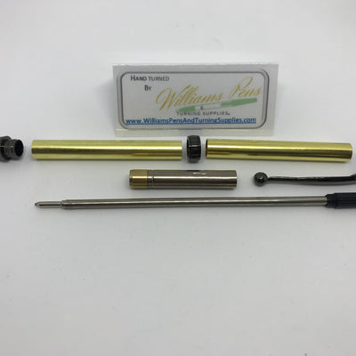 Fancy Pen Kit Black Chrome - Williams Pens & Turning Supplies.