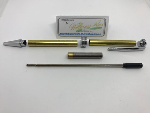 Streamline Pen Kit Chrome - Williams Pens & Turning Supplies.
