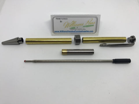 Streamline Pen Kit Gun Metal - Williams Pens & Turning Supplies.