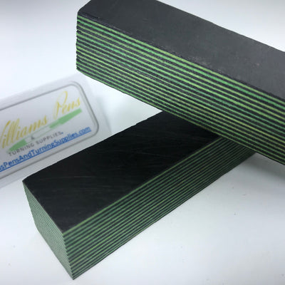 Color Wood Pen Blank (Black & Green) - Williams Pens & Turning Supplies.