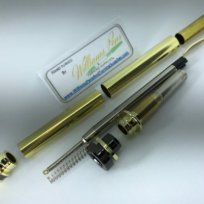 Gold Cigar Pen Kits - Williams Pens & Turning Supplies.