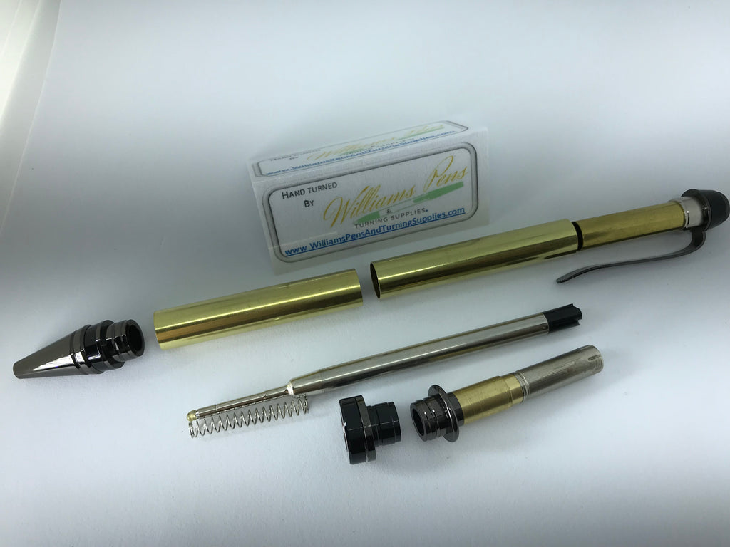 Gun Metal Cigar Pen Kits - Williams Pens & Turning Supplies.
