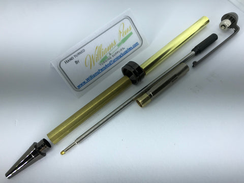 Gun Metal Euro Pen Kits - Williams Pens & Turning Supplies.