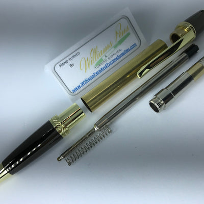 Gold & Gun Metal Sierra Pen Kits - Williams Pens & Turning Supplies.