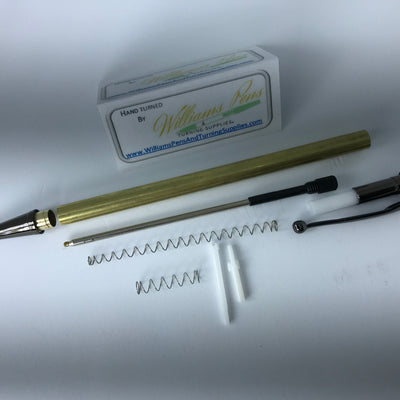 Gun Metal Miracle Click Pen Kit - Williams Pens & Turning Supplies.