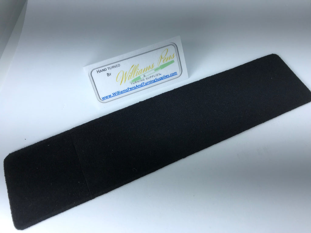 Black Velvet Pen Sleeve - Williams Pens & Turning Supplies.
