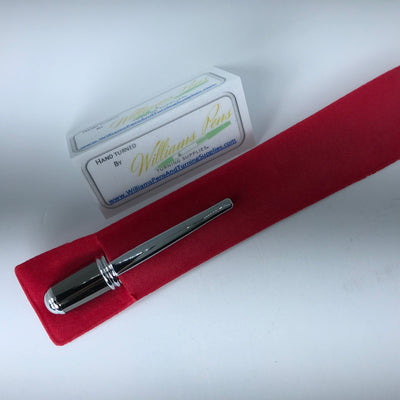 Red Velvet Pen Sleeve - Williams Pens & Turning Supplies.