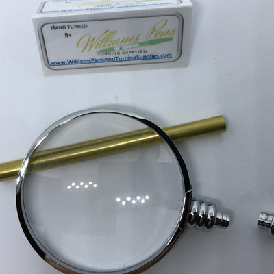 Chrome Magnifier Kits - Williams Pens & Turning Supplies.