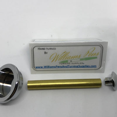 Chrome Shaving Brush Hardware Kits - Williams Pens & Turning Supplies.
