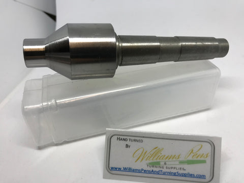 Morse Taper Revolving Tailstock MT2# - Williams Pens & Turning Supplies.