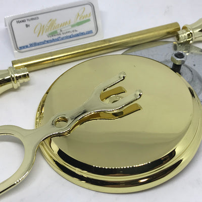 Gold Shaving Stand Kit - Williams Pens & Turning Supplies.