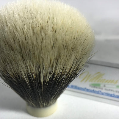 Finest Badger Hair Knot for Shaving Brush Kit - Williams Pens & Turning Supplies.