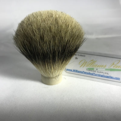 Best Badger Hair Knot for Shaving Brush Kit - Williams Pens & Turning Supplies.