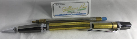 Chrome Sierra Pencil Kits - Williams Pens & Turning Supplies.