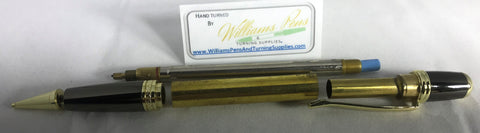 Gold Sierra Pencil Kits - Williams Pens & Turning Supplies.