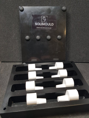 Solimould Spare Bung Sets for the Quad Mould - Williams Pens & Turning Supplies.