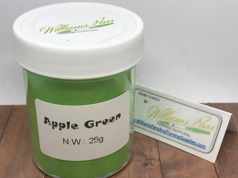 Mica Pigment 2# Apple Green - Williams Pens & Turning Supplies.