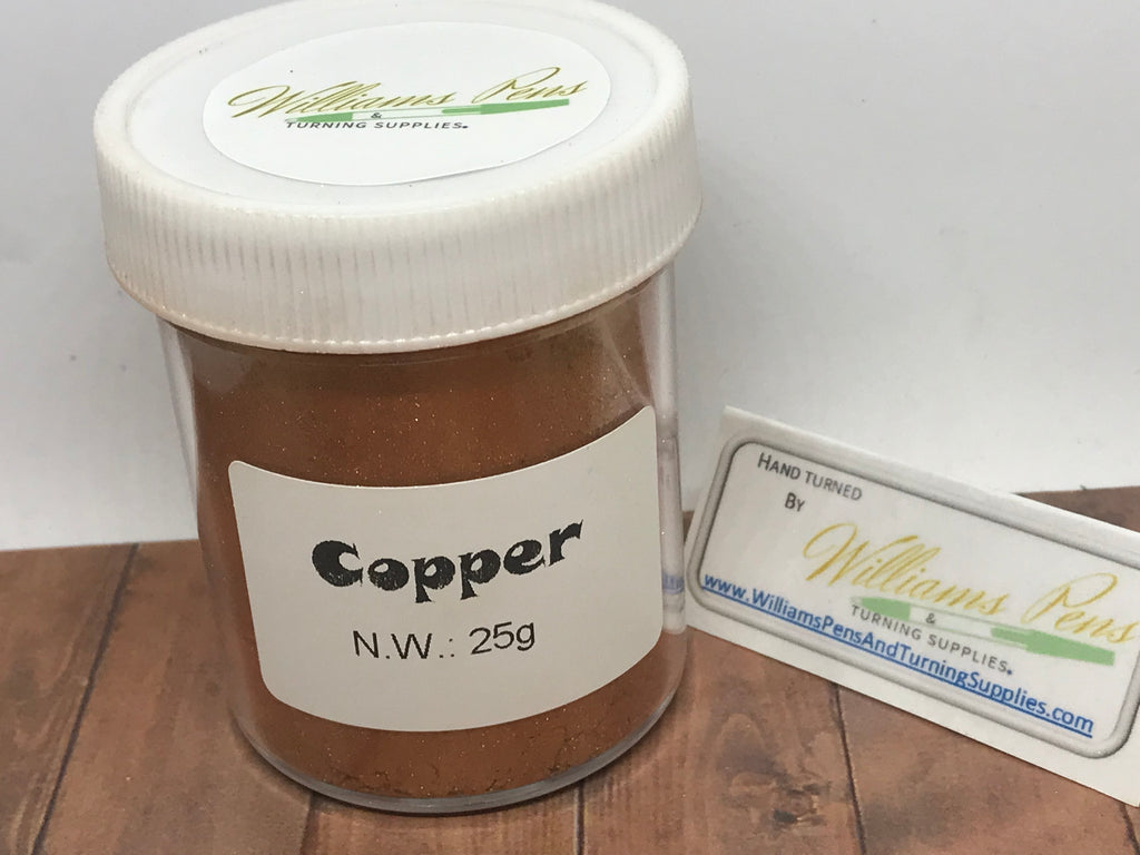 Mica Pigment 19# Copper - Williams Pens & Turning Supplies.