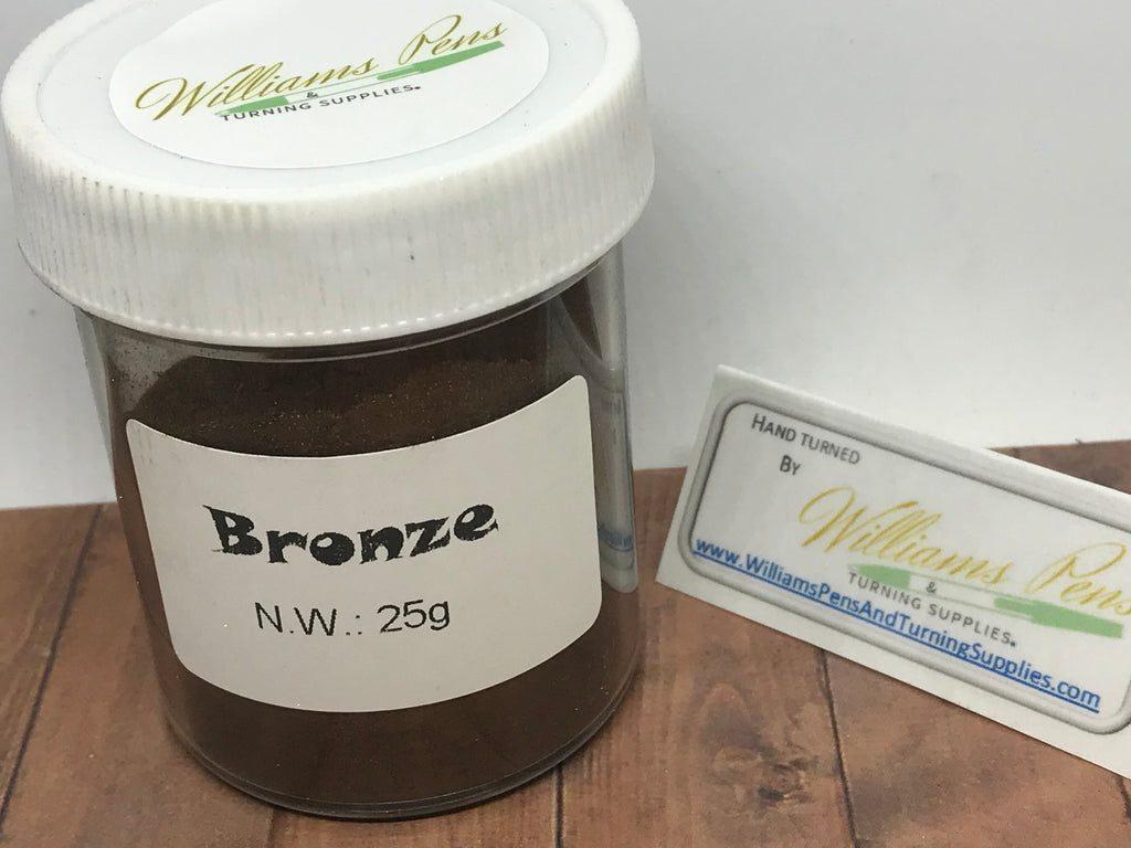 Mica Pigment 22# Bronze - Williams Pens & Turning Supplies.