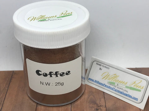Mica Pigment 23# Coffee - Williams Pens & Turning Supplies.