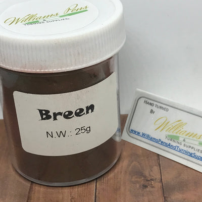 Mica Pigment 24# Breen - Williams Pens & Turning Supplies.