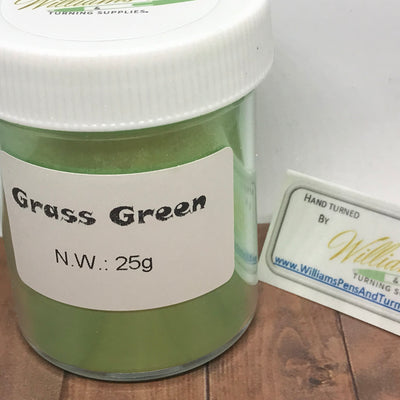 Mica Pigment 30# Grass Green - Williams Pens & Turning Supplies.