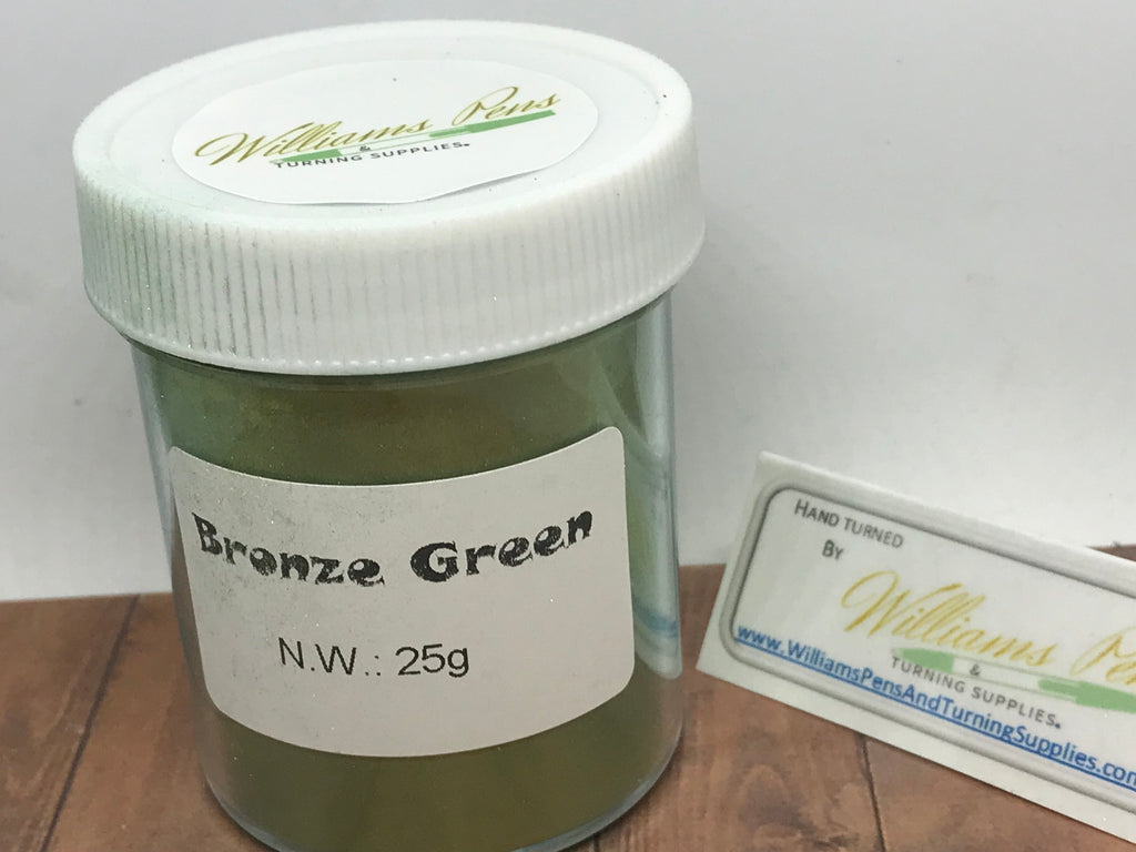 Mica Pigment 31# Bronze Green - Williams Pens & Turning Supplies.