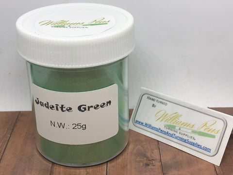 Mica Pigment 34# Jadeite Green - Williams Pens & Turning Supplies.