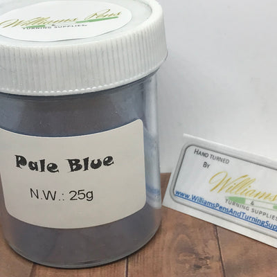 Mica Pigment 38# Pale Blue - Williams Pens & Turning Supplies.
