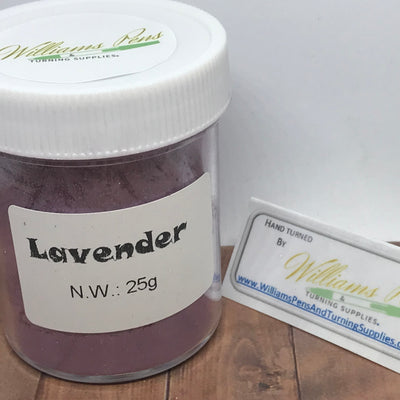 Mica Pigment 40# Lavender - Williams Pens & Turning Supplies.