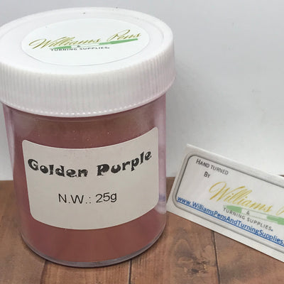 Mica Pigment 43# Golden Purple - Williams Pens & Turning Supplies.