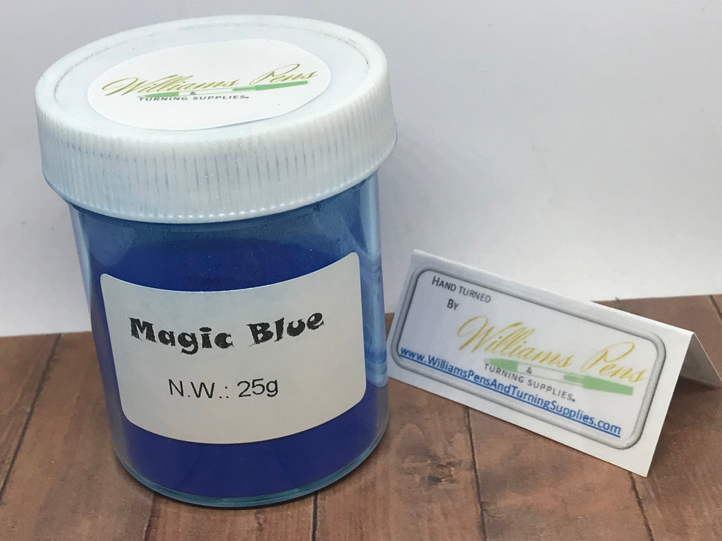 Mica Pigment 45# Magic Blue - Williams Pens & Turning Supplies.