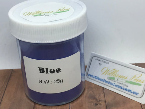 Mica Pigment 46# Blue - Williams Pens & Turning Supplies.