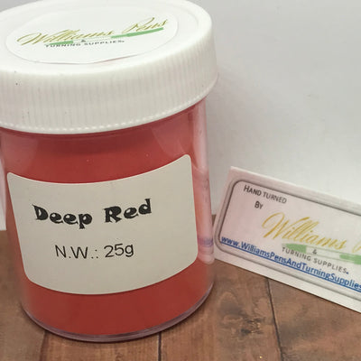 Mica Pigment 53# Deep Red - Williams Pens & Turning Supplies.