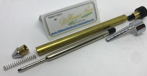 Chrome Handy Pen Kit - Williams Pens & Turning Supplies.
