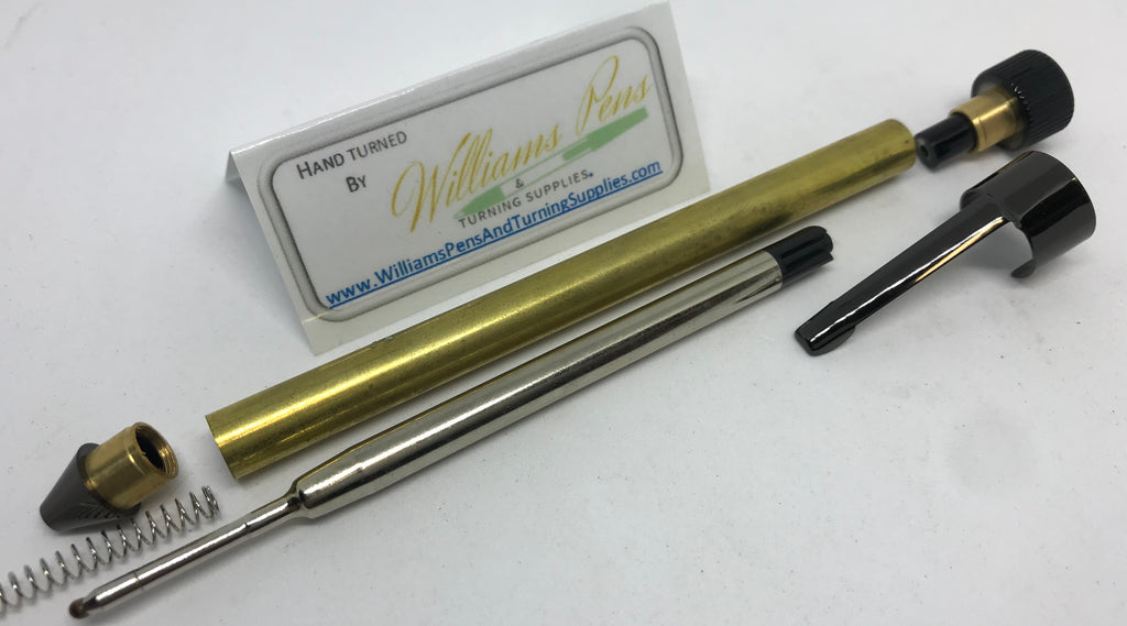 Gun Metal Handy Pen Kit - Williams Pens & Turning Supplies.
