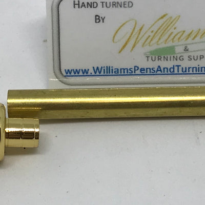 Gold Razor Handle Kits - Williams Pens & Turning Supplies.