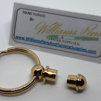 Gold Key Ring Kit - Williams Pens & Turning Supplies.