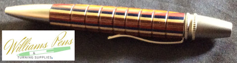 Gold Polaris Twist Pen Kit - Williams Pens & Turning Supplies.