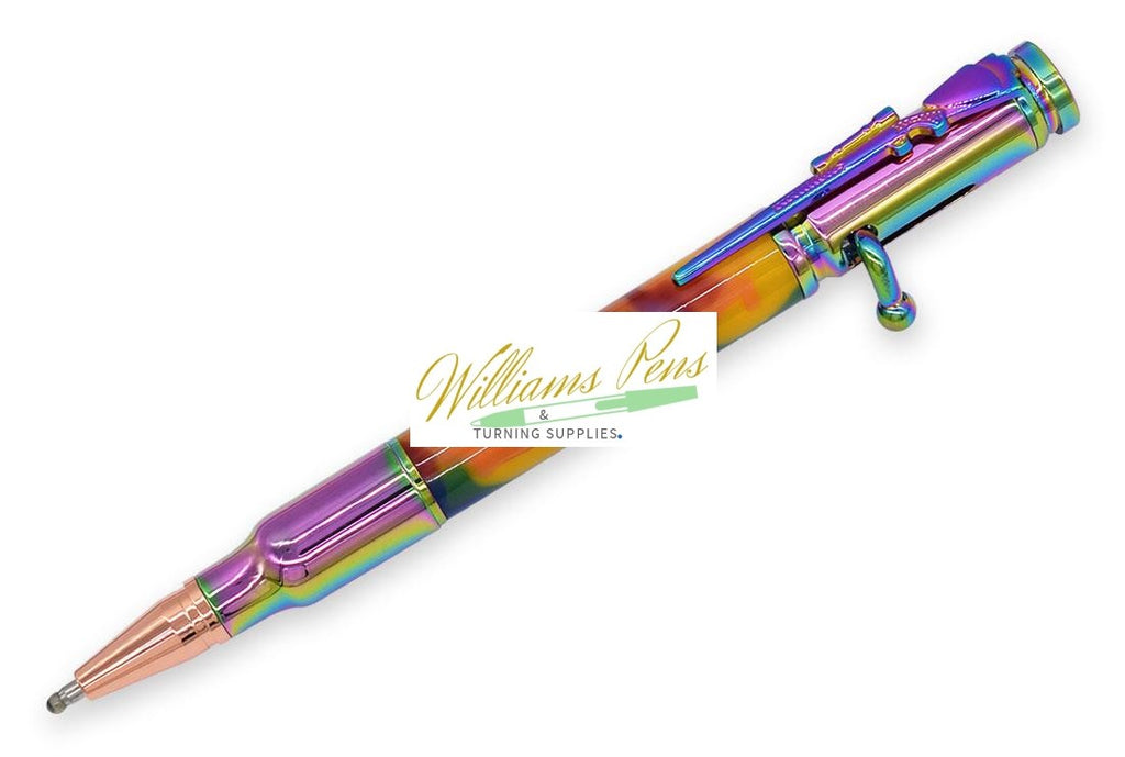 Colourful Vacuum Rifle Bolt Pen Kits
