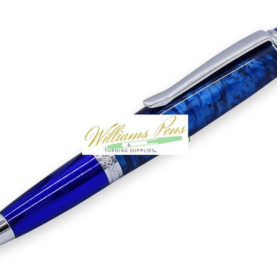 Chrome & Blue Sierra Pen Kits