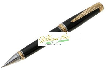 Gold Ultra Cigar Pen Kit - Williams Pens & Turning Supplies.