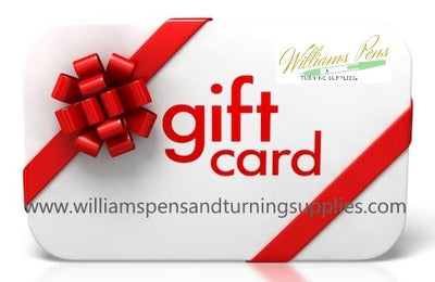 Williams Pen's & Turning Supplies Gift Card