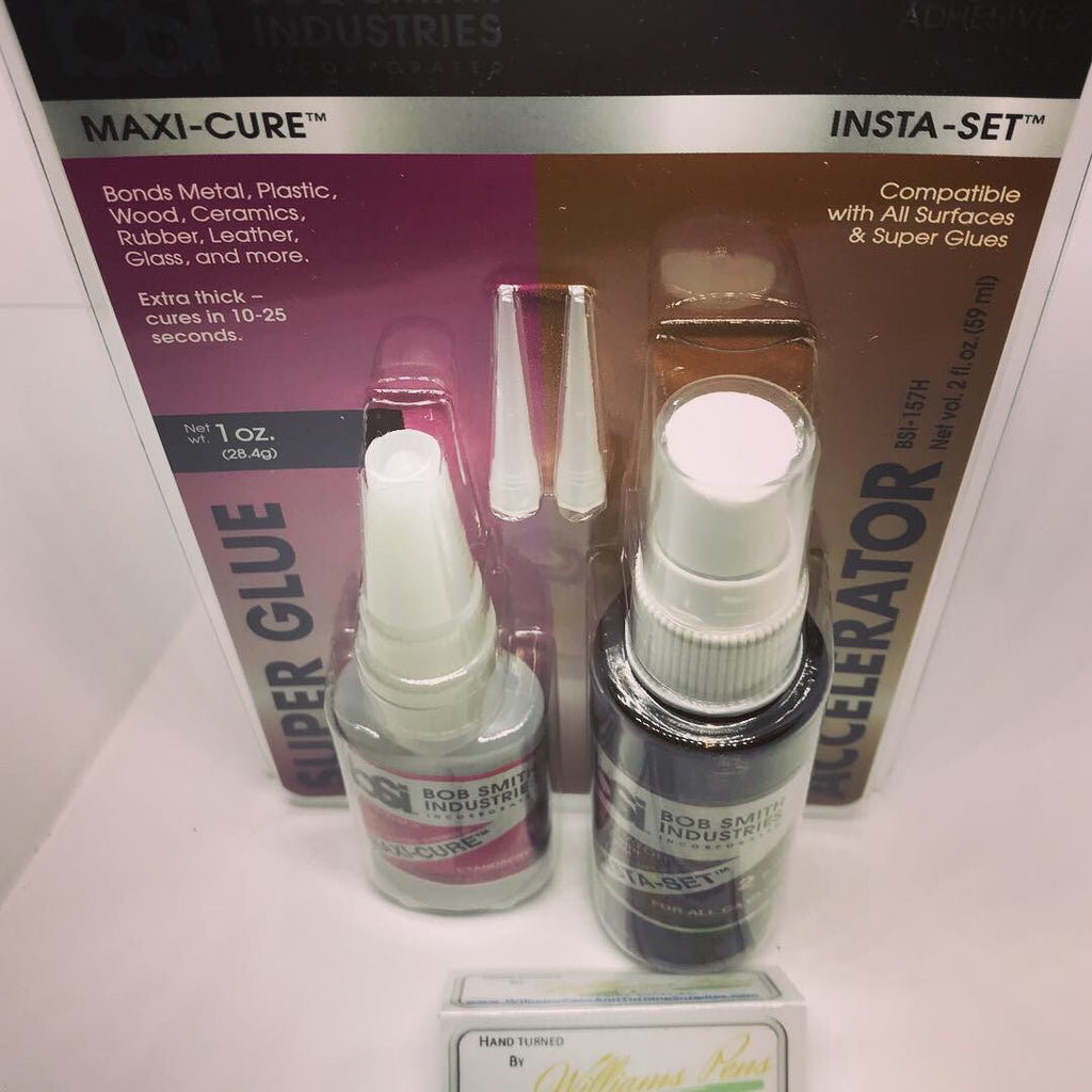 Maxi-Cure / Insta-Set Combo Pack BSI - Williams Pens & Turning Supplies.