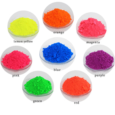 Fluorescent Mica Pigment Orange Neon 50GM