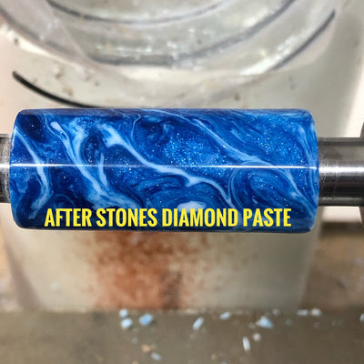 80k Stones White Diamond Polishing paste 2oz