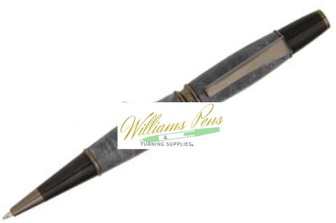Gun Metal Patricia Pen Kit - Williams Pens & Turning Supplies.