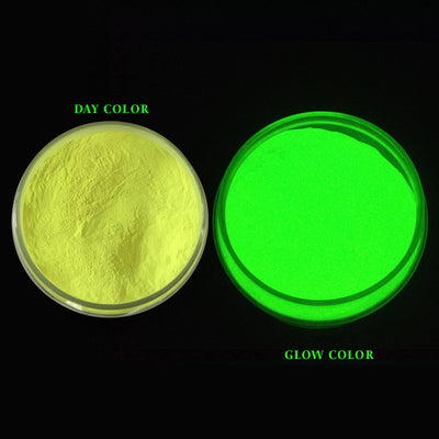 Glow In The Dark Mica Pigment Lemon Yellow 100gm Jar