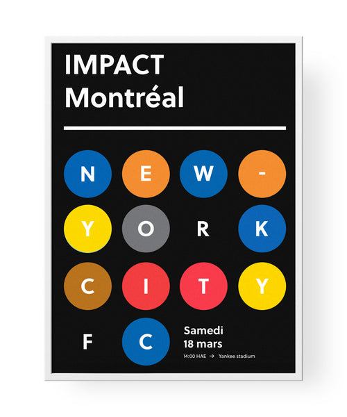 Montréal vs New-York