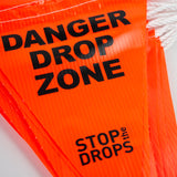 Bunting Safety Flags on Rope